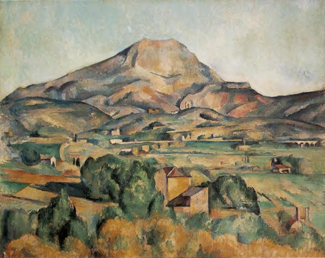 Sainte Victoire Cézanne